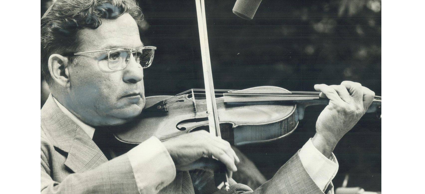 Jean Carignan, famous Quebecois fiddler